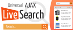 AJAX Live Search 5.4.7 - ajax поиск для Joomla