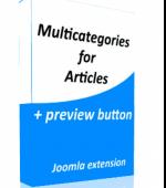 CW Multicategories v3.9.11.1 - мультикатегории Joomla