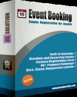 Events Booking v3.10.3 - бронирование для Joomla